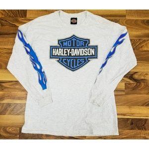 Vintage Harley Davidson Long Sleeve Shirt. AMAZING